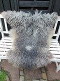 G6P74, Gotland, dik schapenvacht, taupe,grijs,creme_