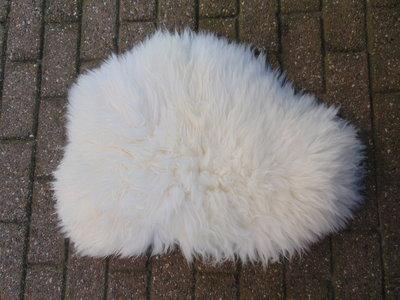 KV20P69, klein dik schapenvacht, 80x60cm, S