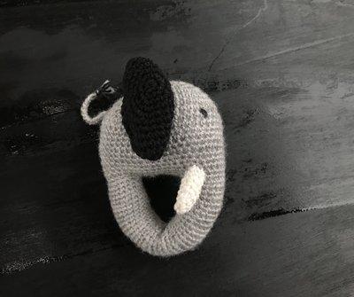 R13P72, rammelaar, handgemaakt, olifant