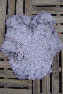 K8P52, konijnenvacht huid, 50x43cm, Size M
