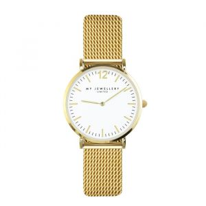 My Jewellery Watch Small Mesh - White/Gold