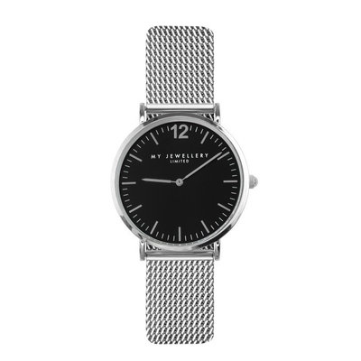 My Jewellery Limited Watch 2.0 - Silver /black
