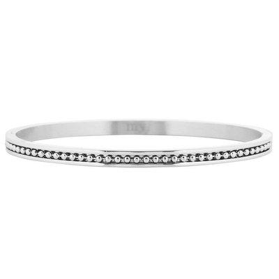 Dots Bangle - Silver