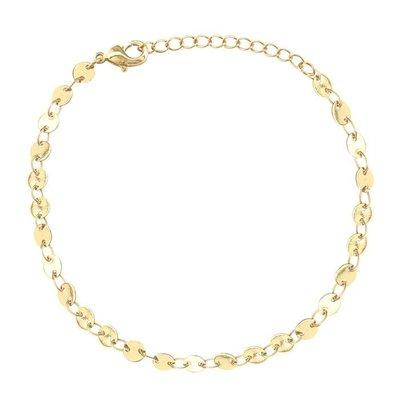 Coins Bracelet- Gold