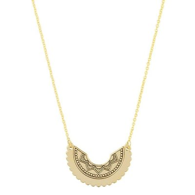 Tiny Boho Necklace - Gold