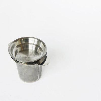 Senza Tea Infuser RVS zeefje met lekbakje