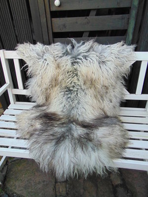 V5P69, IJslands schapenvacht, IJslander, 125x90cm