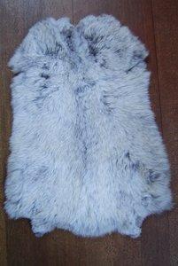 K9P52, konijnenvacht huid, 58x42cm, Size M