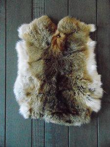 K1P62, konijnenvacht huid, 50x40cm
