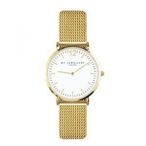 My Jewellery Watch Small Mesh - White/Gold