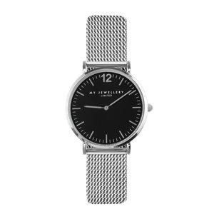 My Jewellery Limited Watch 2.0 - Silver /black