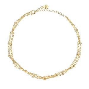 Tiny Bracelet Beads - Gold