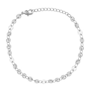 Coins Bracelet- Silver