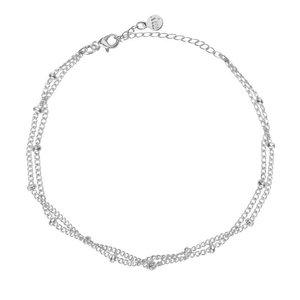 Tiny Bracelet Beads - Silver